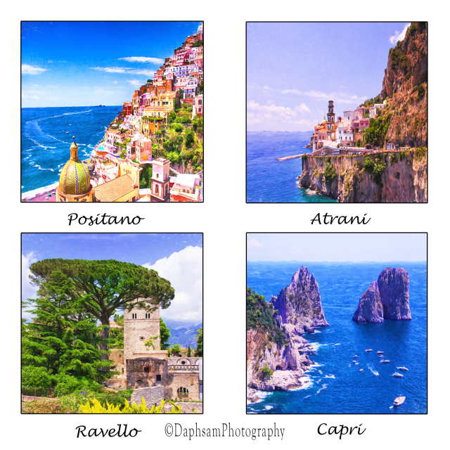 4 images of Italy