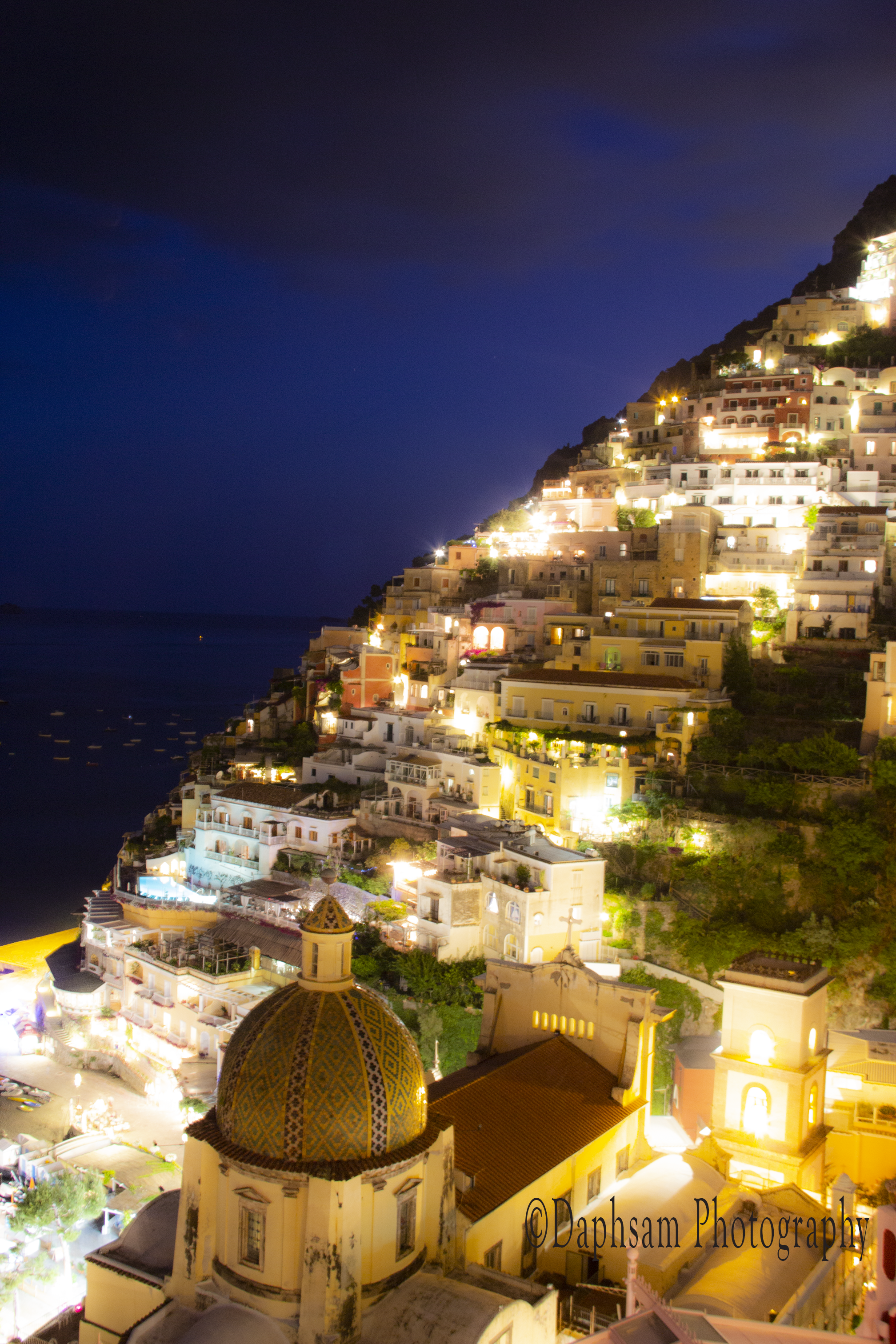 Nightitme in Positano