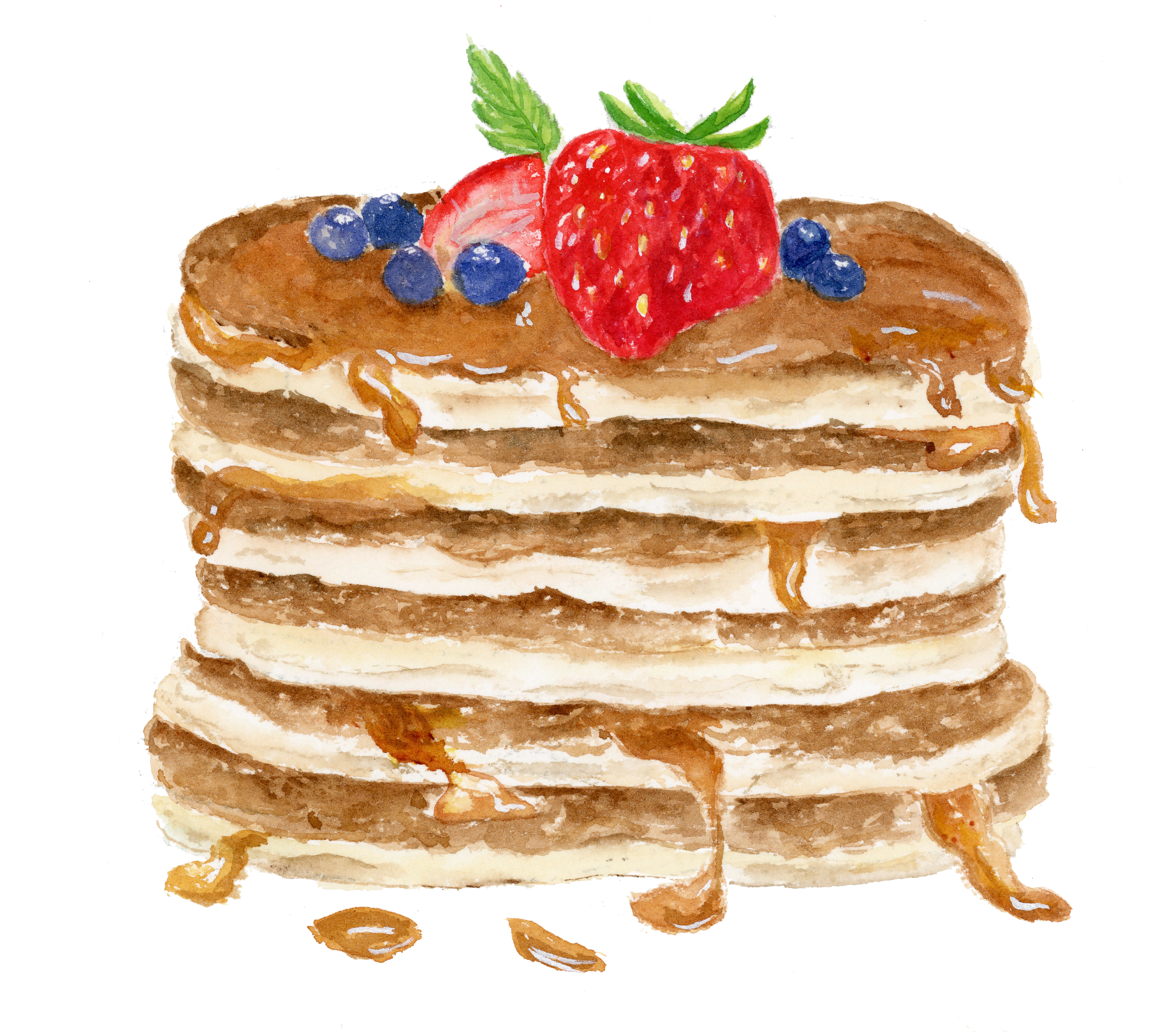 pancakeswithberry